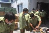Thu giữ hàng chục ngàn sản phẩm lậu và khẩu trang y tế xuất xứ Trung Quốc