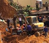 Sập công trình tại Phú Thọ, 4 nạn nhân bị vùi lấp đã tử vong