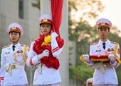 Lễ chào cờ xúc động, trang nghiêm sáng ngày Quốc khánh