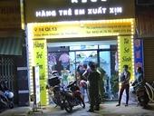 Nam thanh niên khống chế, đâm nữ nhân viên shop quần áo để cướp tài sản