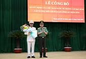 Chủ tịch nước phong hàm cấp tướng sĩ quan CAND