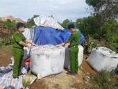 Kết quả xét nghiệm chỉ số độc hại của 60 tấn chất thải đổ trộm ở Thanh Hóa