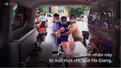 Ông Đoàn Ngọc Hải chở miễn phí bệnh nhân về nhà
