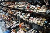 Phát hiện cơ sở kinh doanh giày dép giả các nhãn hiệu nổi tiếng
