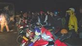 Công an vây bắt gần 300 thanh thiếu niên, học sinh tụ tập đua xe trái phép