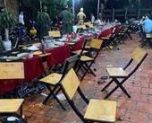 Hai nhóm hỗn chiến tại nhà hàng khi đang tổ chức sinh nhật