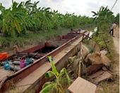 Hy hữu, trộm tàu thủy 180 tấn từ Thái Bình ra Hải Dương phá dỡ