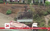 Sập cổng trường, 6 học sinh mầm non thương vong