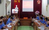 VKSND tỉnh Điện Biên tổ chức Hội nghị trực tuyến