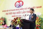 Ông Nguyễn Thế Mạnh được bầu làm Bí thư Đảng ủy BHXH Việt Nam