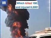 Cảng Beirut lại bốc cháy dữ dội, vài tuần sau vụ nổ lớn