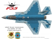 F-35 của Mỹ được phát hiện cải trang thành Su-57 của Nga
