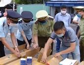 Hải quan Hải Phòng phát hiện hơn 1 triệu bao thuốc lá 555 giả