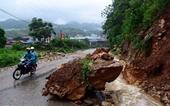 Vùng núi Bắc Bộ tiếp tục có mưa to, đề phòng sạt lở đất