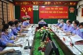 """VKSND tỉnh Kiên Giang thực hiện quản lí án theo mô hình """"một cửa"""""""