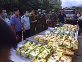 Thu giữ hàng trăm kg ma túy trong 11 pho tượng gỗ