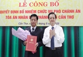 Ban Bí thư, Chánh án TANDTC chỉ định, bổ nhiệm nhân sự mới