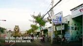 Hãi hùng cảnh xe bồn tông ô tô và xe máy chờ đèn đỏ ở Vũng Tàu