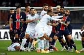Neymar và 4 cầu thủ nhận thẻ đỏ sau màn hỗn chiến ở trận PSG-Marseille