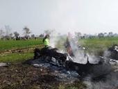 Trực thăng quân sự Mỹ rơi ở đông bắc Syria