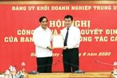 Đồng chí Nguyễn Đức Phong làm Phó Bí thư Đảng uỷ Khối DN Trung ương