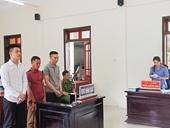 110 tháng tù giam cho nhóm đối tượng chuyên đột nhập nhà dân liên huyện, liên tỉnh
