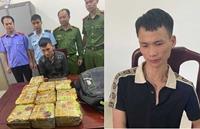 Bắt trùm ma túy ở Kỳ Sơn, thu 10kg ma túy đá, 2 bánh heroin