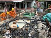 2 người chết và mất tích, 110 người bị thương 22 562 nhà tốc mái do bão số 5