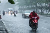 Nhiều khu vực trên cả nước có mưa rào và dông