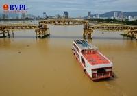 Độc đáo cảnh biến hình cây cầu lâu đời nhất Đà Nẵng
