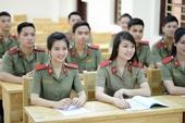 Điểm sàn các trường khối Công an nhân dân năm 2020
