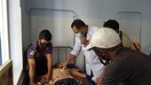 Đang gặt lúa bị sét đánh, 2 người chết, 1 người bị thương nặng