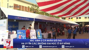 Xác định 2 cá nhân gửi thư hạ uy tín các trường Đại học ở Đà Nẵng