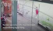 Cảnh sát trắng đêm tìm người phụ nữ bị nước cuốn