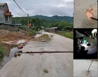 Người dân cậy được đất lẫn trong bê tông của tuyến đường gần 78 tỷ đồng