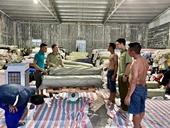 Từ kiểm tra phương tiện phát hiện hơn 83 000 kg vải lậu