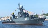 Tàu khu trục chống ngầm Nga va chạm với tàu Thụy Sĩ