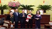 Ông Chu Ngọc Anh nhận chức Chủ tịch Hà Nội