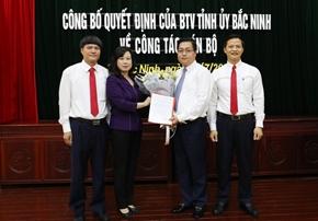 Ông Nguyễn Nhân Chinh được bầu vào Ban Chấp hành Đảng bộ tỉnh Bắc Ninh