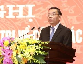 Đồng chí Chu Ngọc Anh được bầu giữ chức Chủ tịch UBND TP Hà Nội