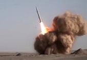 Iran lại khoe tên lửa Raad-500 hiện đại trong kho vũ khí khổng lồ