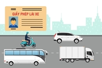Bộ Công an đề xuất 11 hạng giấy phép lái xe mới
