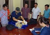 Bắt đối tượng vận chuyển số lượng ma túy lớn từ Nghệ An ra Hà Nội tiêu thụ