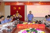 VKSND tỉnh Bà Rịa Vũng Tàu tập trung thực hiện các khâu đột phá