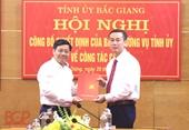 Bắc Giang Đồng chí Thạch Văn Chung giữ chức Bí thư Huyện ủy Yên Dũng