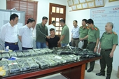 Lào Cai thu giữ lượng ma túy tổng hợp lớn nhất từ trước đến nay