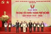 Thành phố Hà Nội vinh danh 10 công dân Thủ đô ưu tú