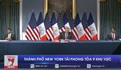 Thành phố New York tái phong tỏa 9 khu vực
