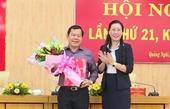 Công bố quyết định chuẩn y tân Phó Bí thư Tỉnh ủy Quảng Ngãi