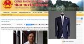 Tuyên Quang dừng hợp đồng chi 2,5 tỉ đồng may trang phục cho đại biểu